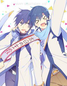 source: pixiv id 62725753 Vocaloid Kaito, Kaito Shion, Manga Art, Anime Art, Kaai Yuki, Mikuo, Anime Recommendations, My Favorite Image, Awesome Anime