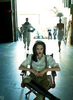 Angelina Jolie : Vanity Fair - Septembre 2017 par Mert Alas & Marcus Piggott