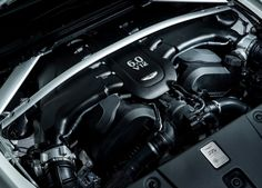 V12 Engine with Turbocharged Configuration also Alloy Cylinder Head Cover
