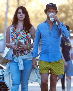 Lana Del Rey & Francecso Carrozzini spotted after having lunch at Cafe Habana in Malibu, California (Sept. 05)