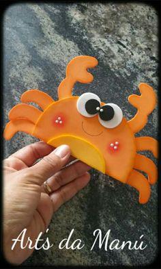 Manualidad Foam Sheet Crafts, Foam Crafts, Diy And Crafts, Crafts For Kids, Arts And Crafts, Paper Crafts, Craft Activities, Preschool Crafts, Pot A Crayon