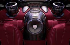• Diffusori auto - Altoparlanti lusso per un impianto audio di eccellenza: Sonus Faber e Pagani