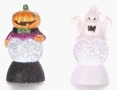 24 Halloween Snow Globes by Gordon Companies, Inc. $210.00. Picture may wrongfully represent. Please read title and description thoroughly.. Brand Name: Gordon Companies, Inc Mfg#: 30702004. Please refer to SKU# ATR25771616 when you inquire.. This product may be prohibited inbound shipment to your destination.. Shipping Weight: 5.00 lbs. 24 Halloween snow globes/light up/LED/changes colors/glitter in globe/batteries are included/3.25''H x 1.5'' diameter/made of acrylic/you ge...