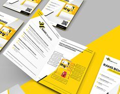 """Project design """"new look"""" brochure for company from Poland/UK."""