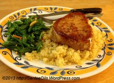 Apricot Glazed Pork Chops with doTERRA Rosemary Oil      Ingredients:        3 tablespoons Apricot Preserves      2 tablespoons Worcestershire Sauce      1 tablesoon Dijon Mustard      1/4 teaspoon Ground Ginger      1 drop doTERRA Rosemary Essential Oil       Salt and Pepper to taste      3 tablespoons Extra Virgin Olive Oil      2 boneless Pork Chops, 1/2 inch thick