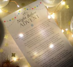 "A beautiful Christian version of ""The Night before Christmas"" by Ann VosCamp"