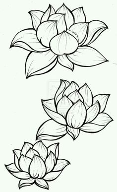 This lotus drawing is the exact shape i want for my lotus tattoo i lotus blossom tattoo by metacharis deviantart mightylinksfo