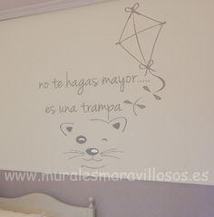 Pinturas en la pared para habitaciones de adolescentes for Frases para cuartos de ninas