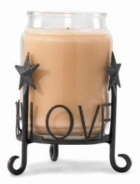 Live Laugh Love Candle Holder