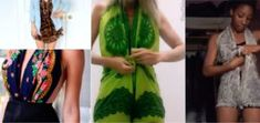 Transformez vos foulards en tops ou vos paréos en combishorts sans couture