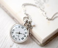 Thinking that I might need to get a pocket watch for the wedding.  I'm a spaz about being on-time and my dress has a pocket!