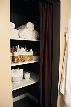 someday my bathroom closet will look like this....