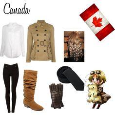 """Canada (hetalia)"" by ai-satuo on Polyvore"
