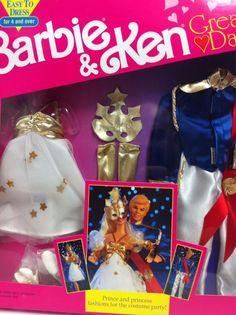 Vintage Barbie Lalka Barbie Ken Wielki Data mody | eBay