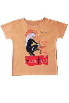 t-shirt Damska koszulka z nadrukiem, motyw The Black Cat Felicia Hardy www.dariza.pl Sklep Dariza Stworzona By inspirować