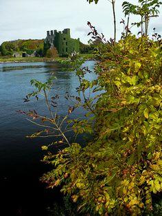 Galway City, Menlo Castle on River Corrib. Galway, Ireland Copyright: Pawel Stryjek