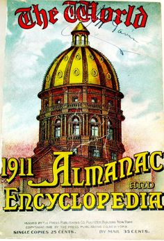 The World Almanac and Encyclopedia 1911