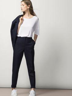 LINED HOODED PARKA - Coats & Jackets - WOMEN - Taiwan | Jacket ...