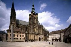 St. Vitus in the Prague Castle.