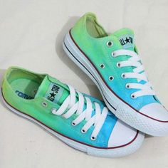 Ombre Converse Shoes