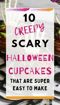 10 creepy and scary Halloween cupcakes that are going to be super hit on Halloween party. These cupcakes are very easy to make too. The list has 10 different designs.#Halloween #halloweencupcakes #spookycupcakes Scary Halloween Decorations, Halloween Desserts, Halloween Food For Party, Halloween Cupcakes, Halloween Birthday, Halloween Season, Devil Halloween, Creepy Halloween, Scary Eyes