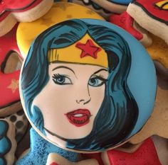 Wonder woman cookie