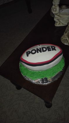 LARGE Football Pitch Soccer Realistic Edible Cake Topper Icing 24HR FREE POST!