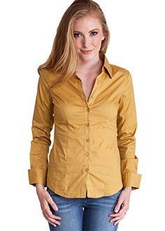 Mustard Ladies Tailored Button Front & Cuffs Long Sleeve Shirt Clothes Effect http://www.amazon.com/dp/B0145DZC5U/ref=cm_sw_r_pi_dp_-.Unwb1JWFMXX