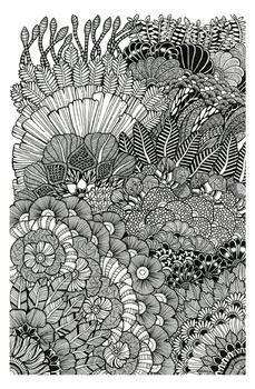 Plant-Mandala by Marty Woods for Minted.