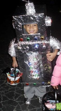 82 Best Homemade Robot Costume Ideas Images In 2017
