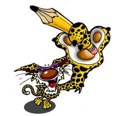 Leopoldo el Leopardo personaje de mi marca Ocak
