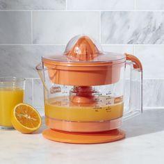 Dash ® Go Orange Citrus Juicer - Crate and Barrel