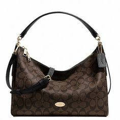 4ed9d2695f65 Coach East/west Celeste Convertible Signature In Hobo Bag. Hobo bags are  hot this