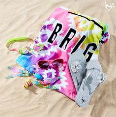 Start with swimwear, then pile on the extras! Best beachy accessories for your days in the sun!