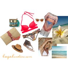 Beach It Up! by bagabond on Polyvore featuring Missoni Mare, Victoria's Secret, Wet Seal, Samantha Wills, Magdalena and Karen Walker
