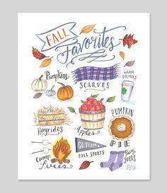 Fall Favorites - Print