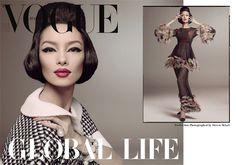 Fei Fei Sun / Chanel for Vogue Italia January 2013 Cover