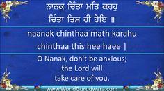 NANAK CHINTA MAT KARHO | Read Guru Angad Dev ji Shabad along with Bhai D...