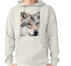 'Realistischer Wolf' by Wolfteamshop Wolf, Beautiful Wolves, Hoodies, Sweaters, Stuff To Buy, Shirts, Shopping, Fashion, Hoodie