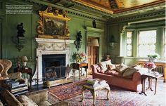 Rousham House, Main Salon.