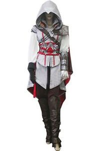 Female Women Girls Children Assassin's Creed 2 II Ezio cosplay costume Hallowmas