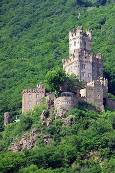 Burg Sooneck is a Medieval Castle - Germany
