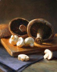 Robert Papp | OIL | Mushrooms