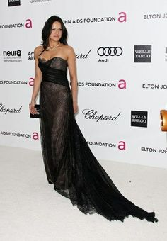 Michelle Rodriguez in Yumi Katsura at the 20th Annual Elton John AIDS Foundation's Oscar Viewing Party
