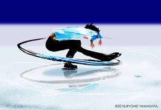 Ryohei Yamashita's Calligraphic Illustrations Inspired by the Olympics | Spoon & Tamago