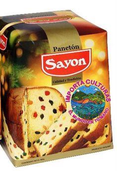 PANETON SAYON, ya online! http://www.importaculturas.com/tienda-online/dulces-y-salados/paneton-sayon-900-gr.html