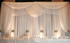 Luxury Wedding Backdrops and Draping Toronto
