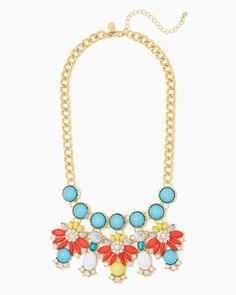charming charlie | Angelica Cluster Necklace | UPC: 410007560122 #charmingcharlie
