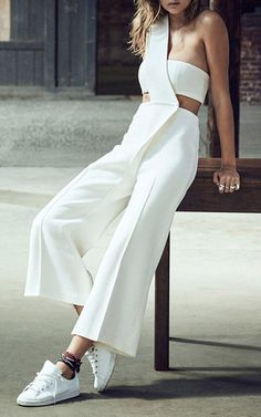 White Jumpsuit by Mulhier