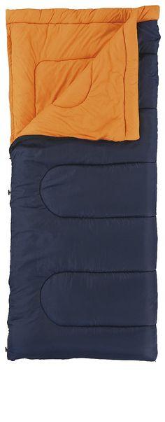 Leichter, gut komprimierbarer Deckenschlafsack mit kompaktem Packmaß auch für niedrigere Temperaturbereiche ausgelegt. Mit Thermokanal entlang des Reißverschlusses, Komfortkragen und der Einrollhilfe 'Roll Control'.  • Zusatzinformation: - Oberstoff/Futter: Polyester 61D 185T - Futter: Polyester 61D 185T  Maße  • Packmaß (L x B): Ø 21 x 43 cm • Schlafsack (L x B1 x B2): 190 x 84 cm  Materia...